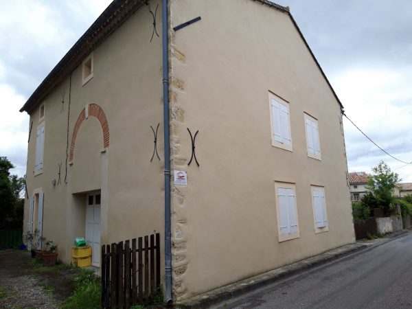 ravalement de façade dans l'Aude